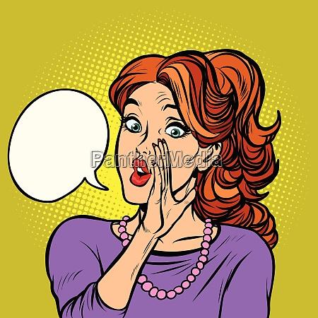 women gossip secret rumor