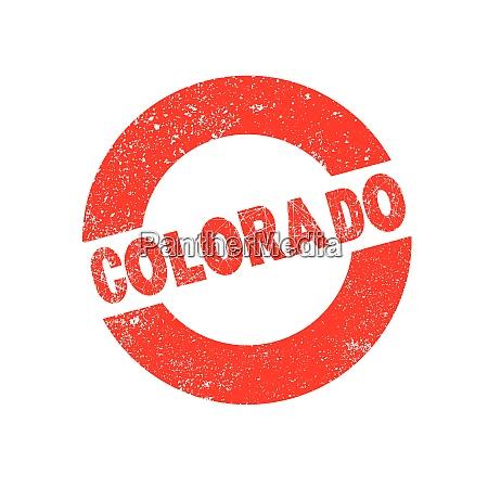 rubber ink stamp colorado