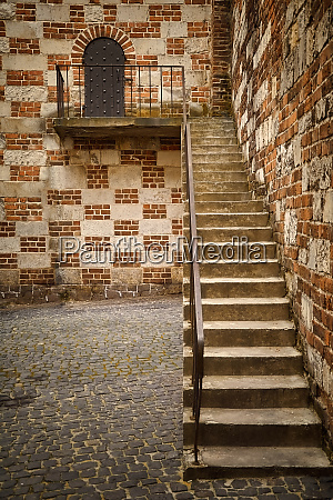 stair to castle