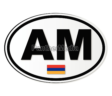 armenia am plate