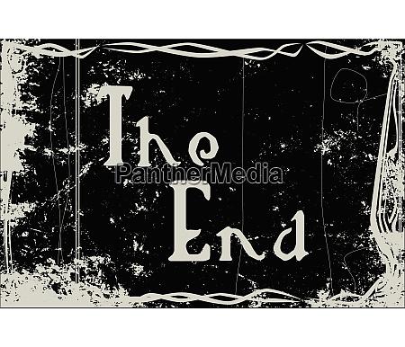 silent movie frame