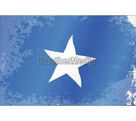 somalia flag grunge