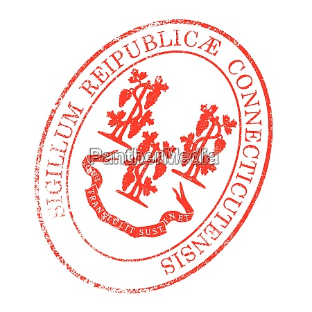 connecticut seal stamp