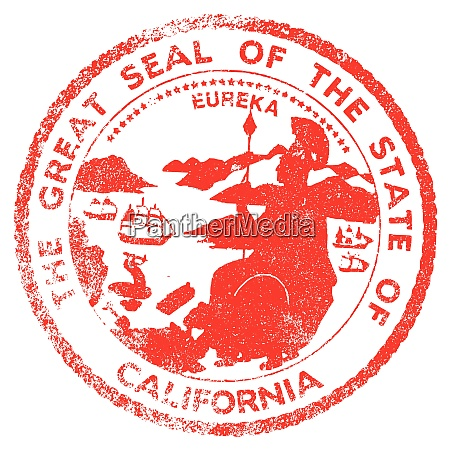 california seal stamp