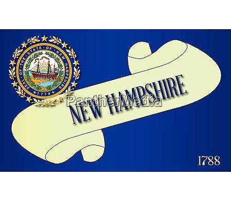 new hampshire scroll