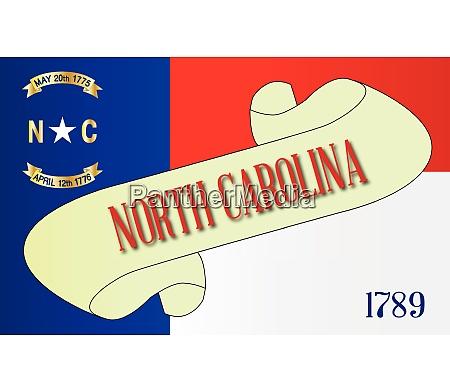 north carolina scroll