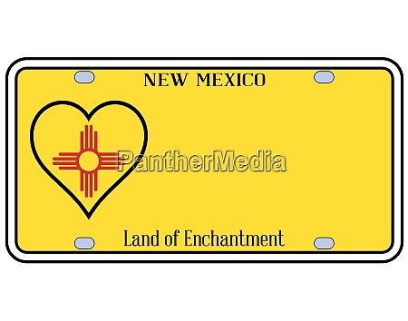 new mexico state license plateai