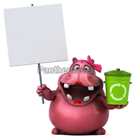 fun, frog, -, 3d, illustration - 26137227