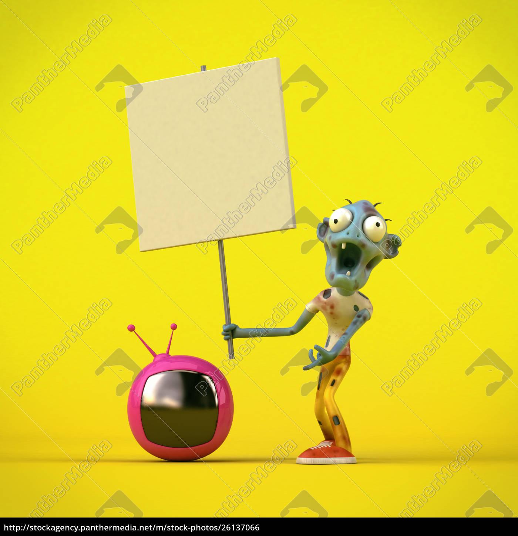robot, -, 3d, illustration - 26137066