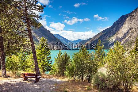 seton lake reservoir bchydro british columbia