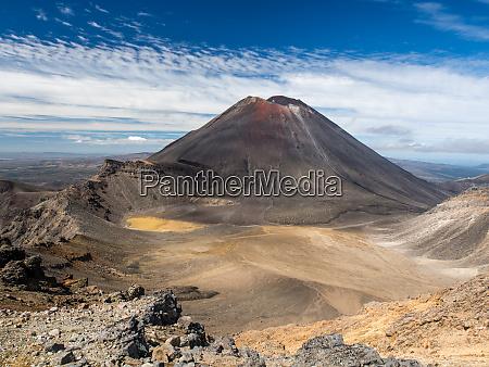 mount ngauruhoe in tongariro np new