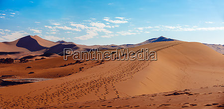 dead vlei landscape in sossusvlei namibia