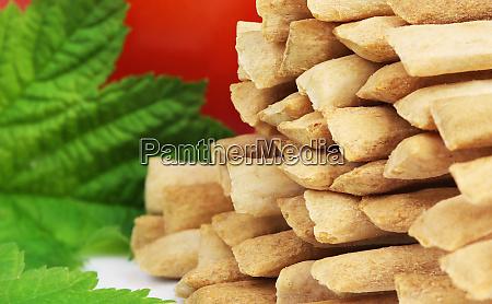 crispy crunchy wheat breadsticks