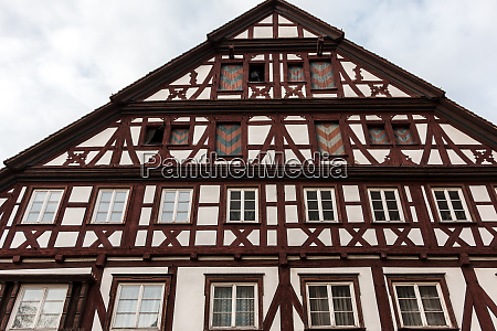 old historical building and half timber