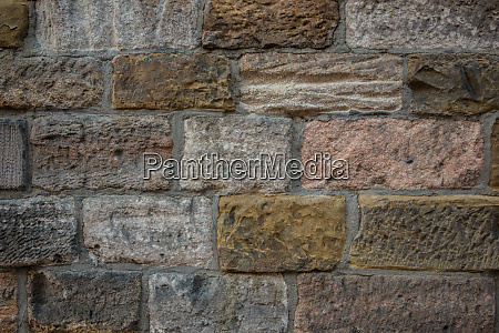old wall of a historical building