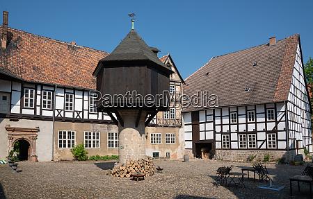 quedlinburg germany europe