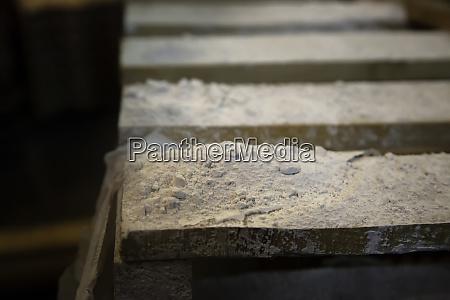 gypsum powders fabric