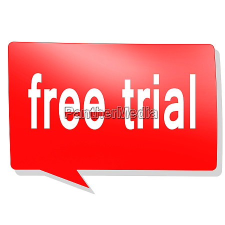 free trial word on red speech