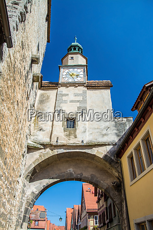 rothenburg ob der tauber bavaria germany
