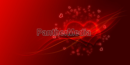 valentines day concept graphic design