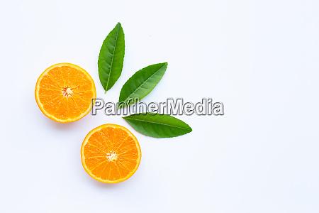 high vitamin c fresh orange