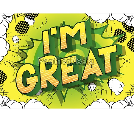 im great vector illustrated comic