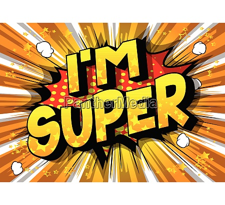 im super vector illustrated comic