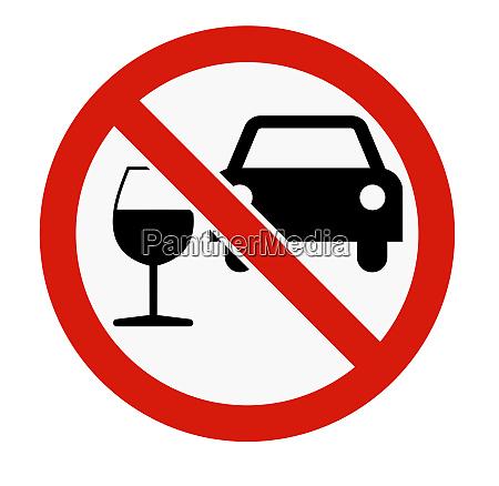 car forbidden driving under the influence