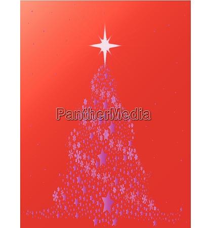 foil christmas tree