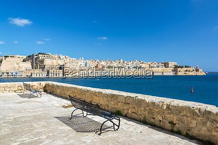 view from senglea malta