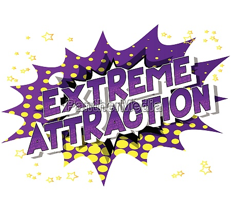 extreme attraction comic book style