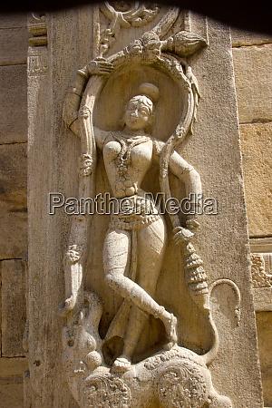 graceful pose of dancer melukote
