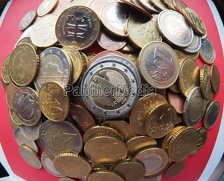 euro coins european union