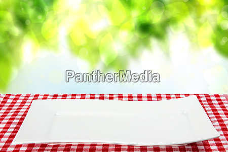 empty plate background empty white plate
