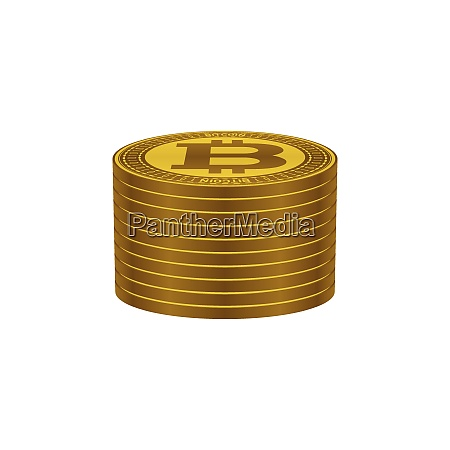bitcoins stack currency symbols