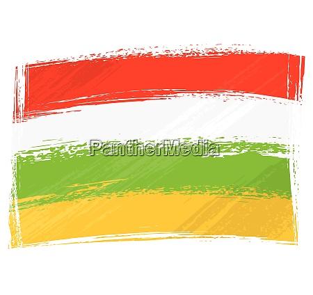 grunge la rioja flag