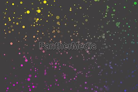 confetti flicker gray background