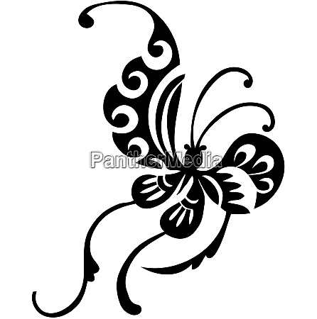 chinese butterfly design