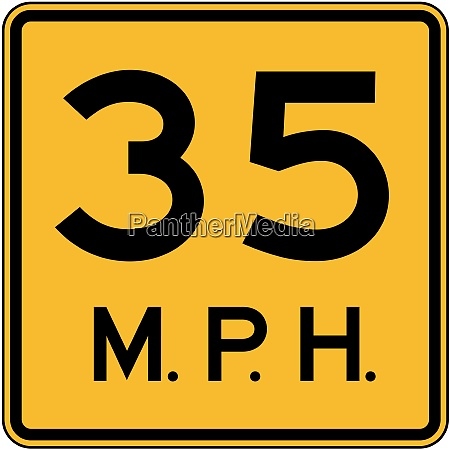 advisory speed