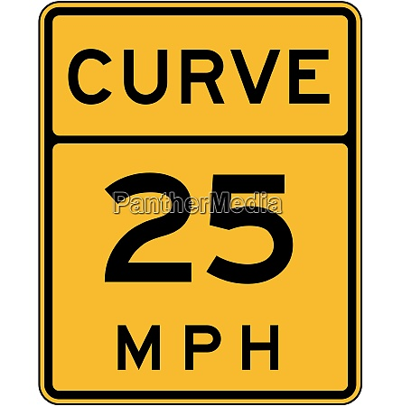 advisory curve speed