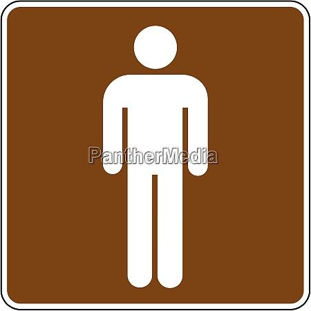 rest room men