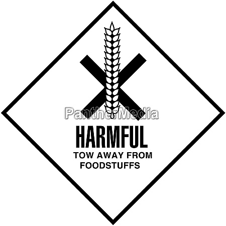 harmful tow away from foodstuffs