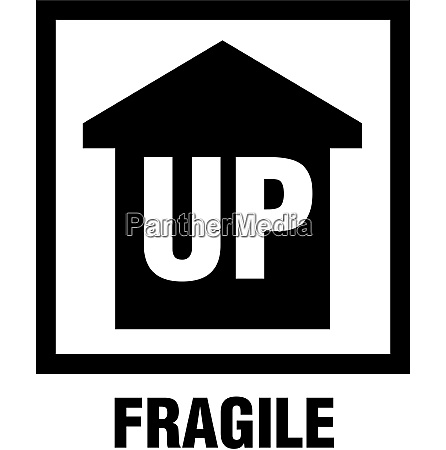 this side up fragile