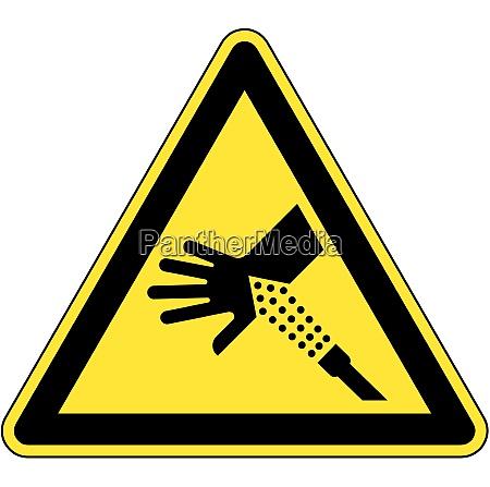 skin puncture pressurized air