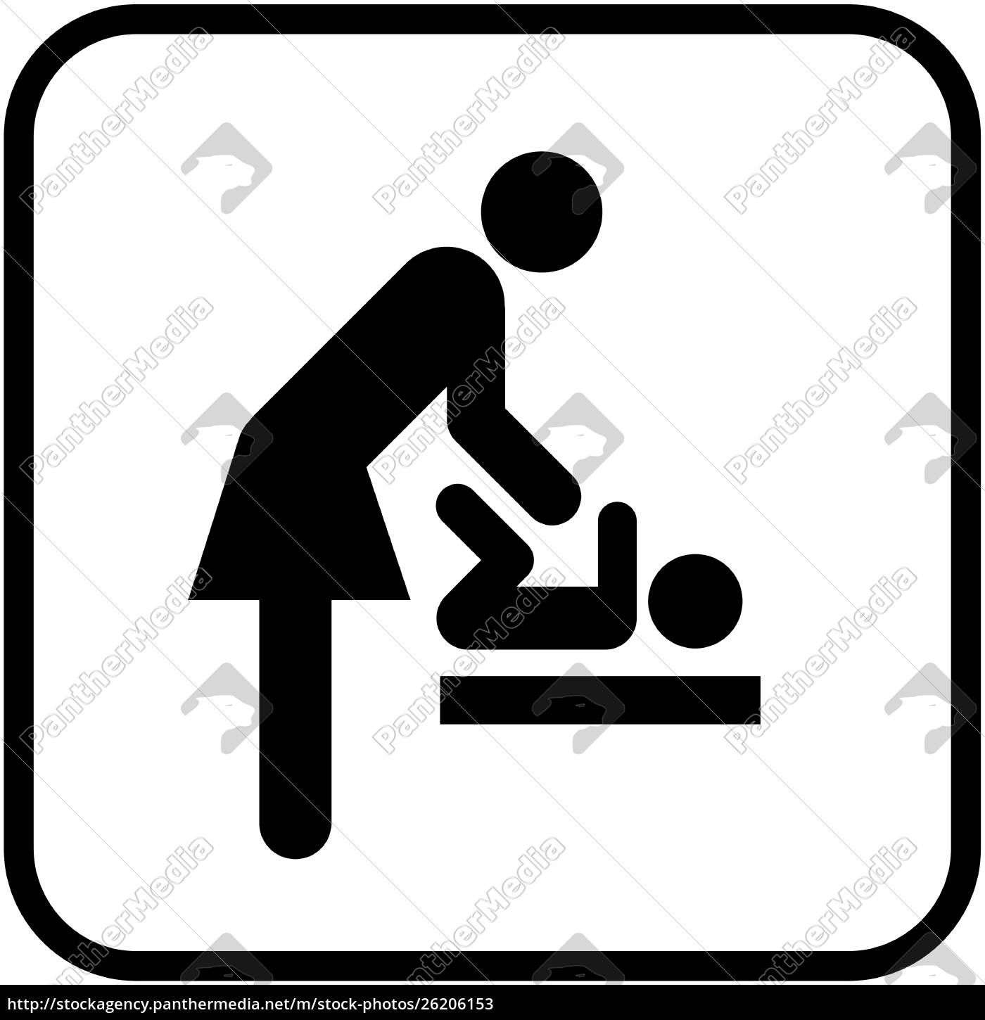 baby, changing, station, women's, room - 26206153