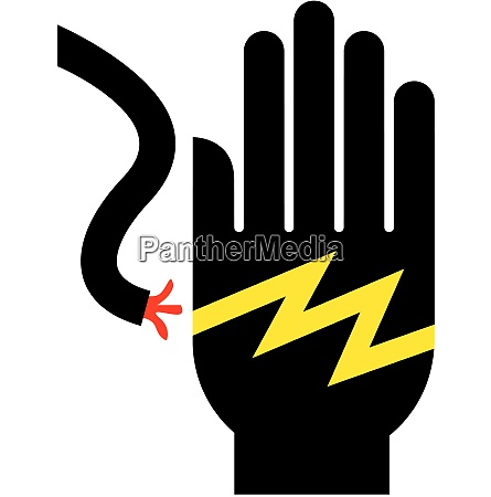 voltage hand shock electrocution electric