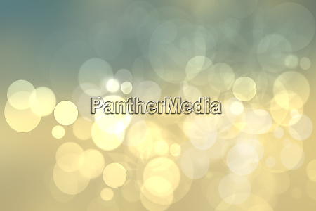 abstract festive gold yellow bright bokeh