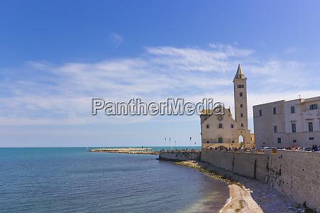 trani landscape cathedral on the sea