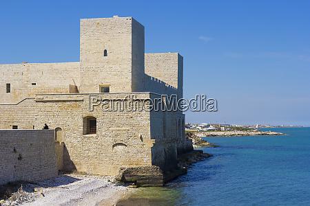 the castle of trani puglia italy
