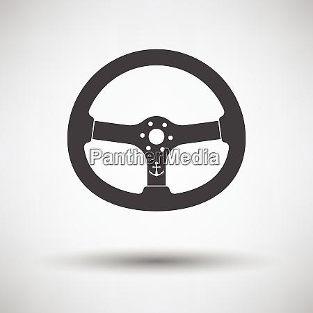 icon of steering wheel